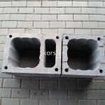 Skorsten blokelis su ventiliacija ir blokelis