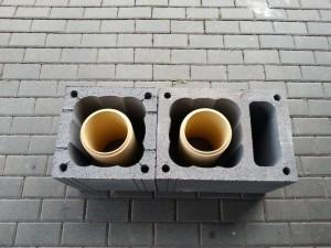 Dūmtraukis su ventiliacijos kanalu
