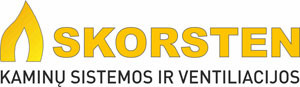 Kaminai Skorsten logo