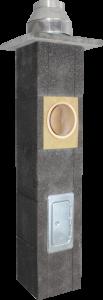 Kaminai moduliniai keramikiniai trisluoksniai